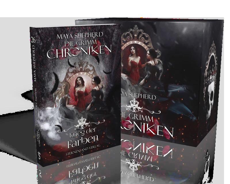 Die Grimm Chroniken von Maya Shepherd Staffel 2 Finale mit Schuber