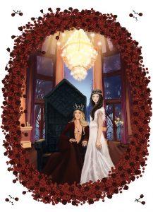 Illustration Die Grimm Chroniken Ballroom