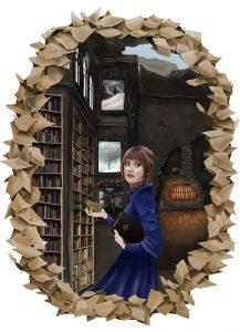Illustration Die Grimm Chroniken Maggy